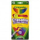 Crayola 12 Count Eraseable Colored Pencils