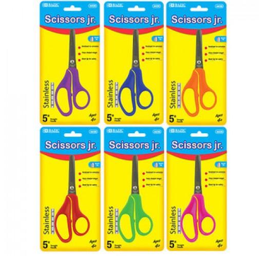 """Bazic 5"""" Blunt Tip School Scissor"""