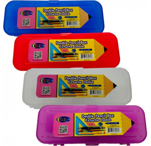 Double Sided Pencil Box