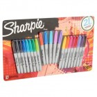 Sharpie The Original Fine Permanent Marker, 21 pack