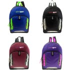 """17"""" Backpack in 4 Assorted Colors"""