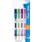Paper Mate Clearpoint Mechanical Pencils, 0.7mm #2 HB, Fashion Barrels, 4-Count