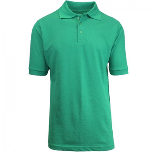 Boys Kelly Green School Uniform Polo Shirt